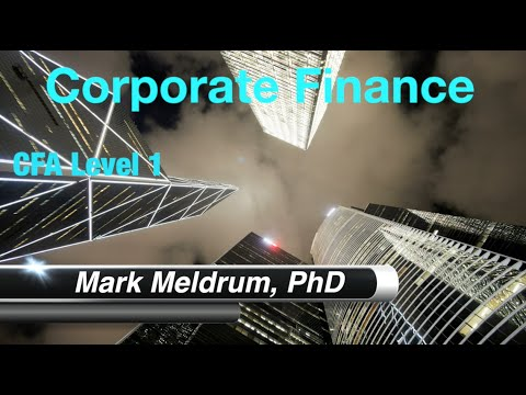 26. CFA Level 1 Corporate Finance R38 Dividends and Share Repurchases LOS1 Part 1