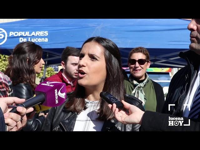 VÍDEO: El PP recoge en la Plaza Nueva firmas contra la derogaciÓn de la prisión permanente revisable