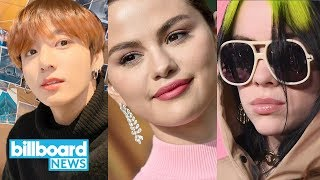 BTS Gets Creative, Selena Gomez Opens Up In Raw New Interview & Billie Eilish Goes James Bond