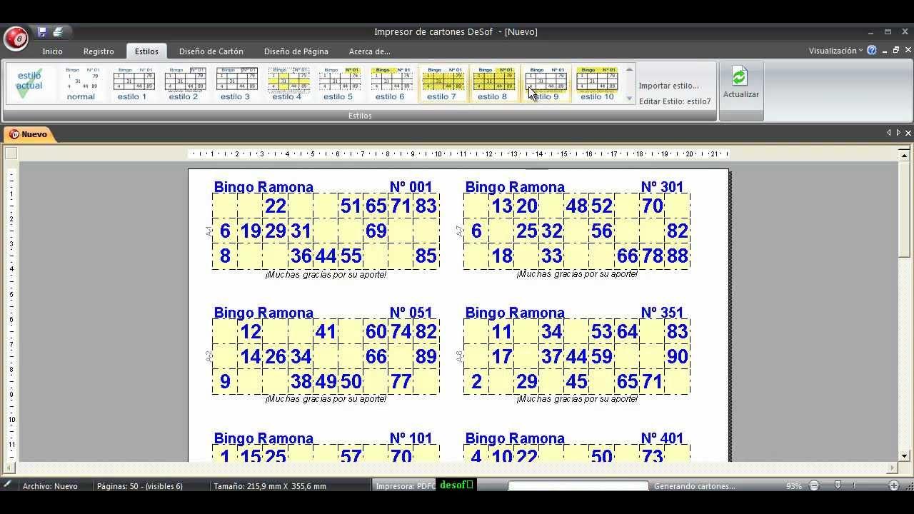 Impresor De Cartones V 2 1 4 By Desof Sistemas