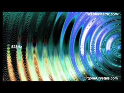 528b Hz.    The DNA Repair/Love Frequency. - Orgone Crystals - Warrior Matrix