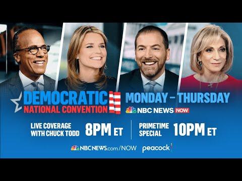 Democratic National Convention Day 3 | Featuring Barack Obama, Kamala Harris | NBC News