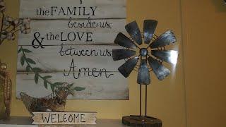 Dollar tree DIY Windmill #dollartreediy #decoronabudget