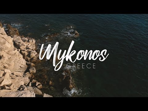 Mykonos, Greece Travel Vlog   DJI Osmo Mobile 2 + IPhone X 4K
