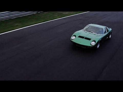 Lamborghini Miura P400 SV 1971 restored by PoloStorico