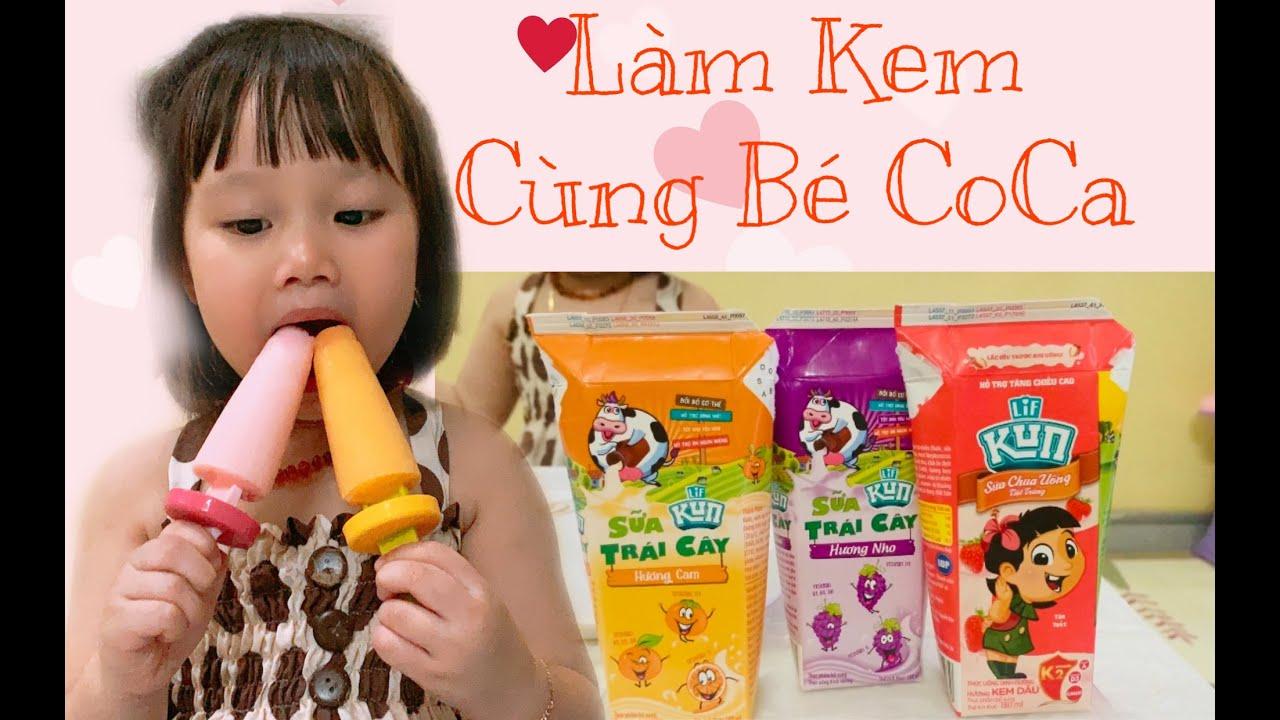 Coca TV | Làm kem bằng sữa Kun |