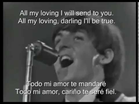 The Beatles   All My Loving   Washington Coliseum Sub Español   Ingles