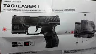 LASER UMAREX USER MANUAL а.С.м
