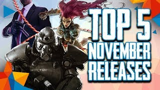 Top 5 November 2018 New Video Game Releases For Pc, Ps4, Xbox One, And Switch