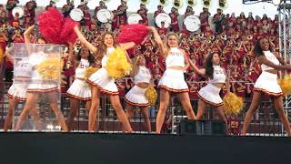 trojancandy.com:  The USC Song Girls Perform at the 2018 Salute to Troy