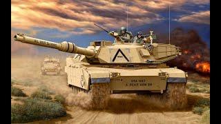 Мегазаводы: M1 Abrams Современный Танк Войны