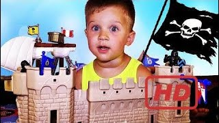 ★ Pirates Ship And Castle Mat-Island Baby Great Adventure Pirates Pirates Unboxing New Toys  # 316