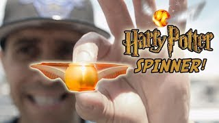 My Favorite Top 10 Fidget Spinners Review and SPIN TIMES! + GIVEAWAY!! GOLDEN SNITCH SPINNER!