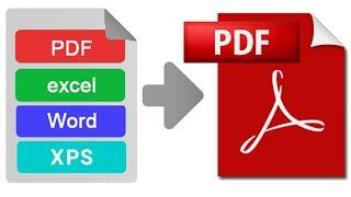 كيفية حفظ أي ملف الى PDF بدون برامج