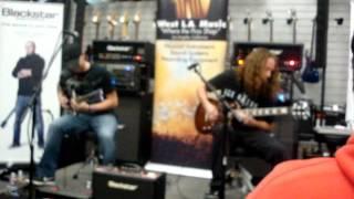 Devildriver (guitarists) Resurrection blvd  at guitar clinic west LA