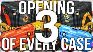 OPENING 3 OF EVERY CS:GO CASE EVER (87 CASE UNBOX)