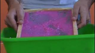 Cómo elaborar papel reciclado