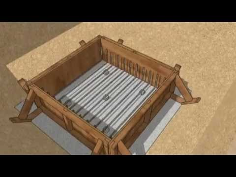 SketchUp Animation    Casting of a RC Pad Footing  improved)