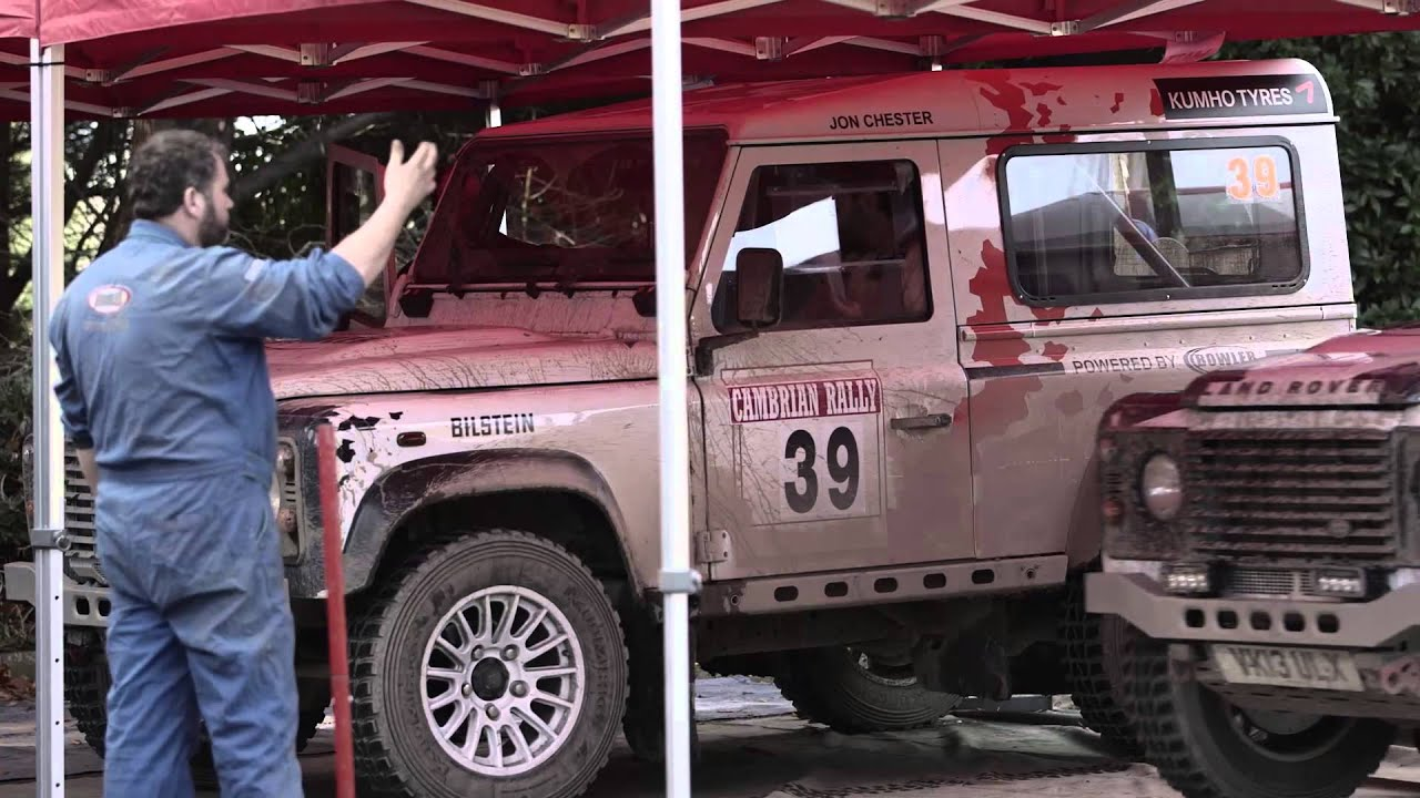 Defender Challenge By Bowler Cambrian Rally Youtube Land Rover
