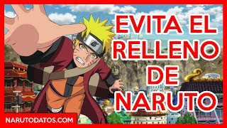 Evita el Relleno de Naruto Shippuden (Sin Relleno)