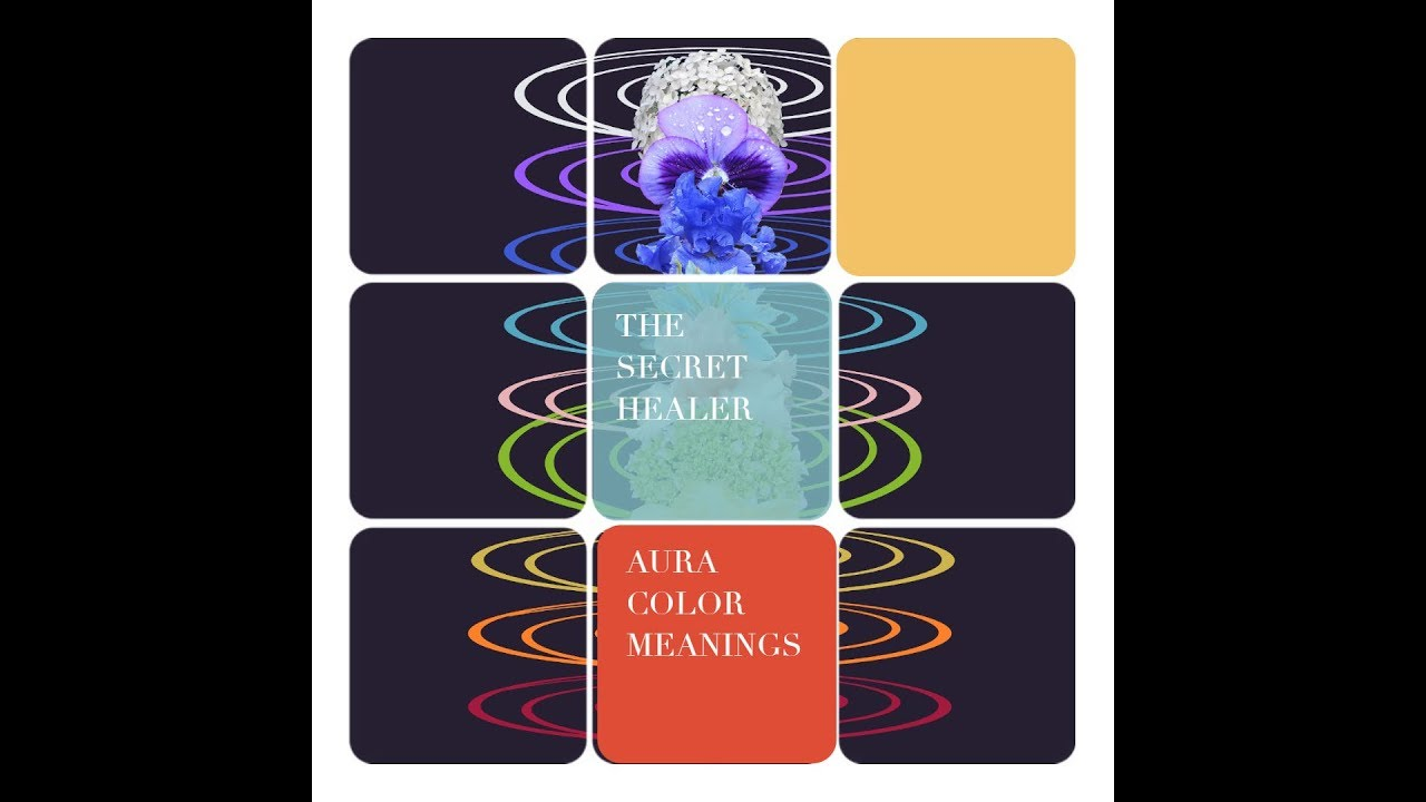 Discover Aura Color Meanings with The Secret Healer and Jill Bruce - Author  of The Aura