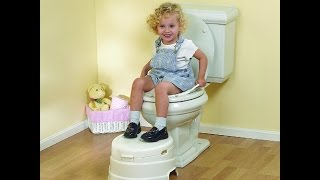 Review: Primo 4-in-1 Soft Seat Toilet Trainer And Step Stool White With Pastel Blue Seat