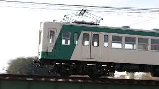 上信電鉄200形 鏑川橋梁2