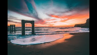 Relaxing Music, Sound of Waves, Tranquil Music, Beach Meditati…