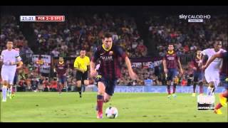 видео Барса.Ру - Барселона 8 - 2 Уэска
