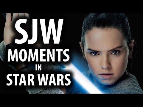 SJW Moments in Star Wars: The Last Jedi