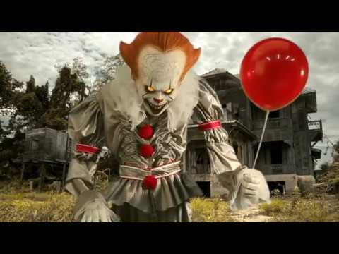 Party City Giant Animated Pennywise Decoration