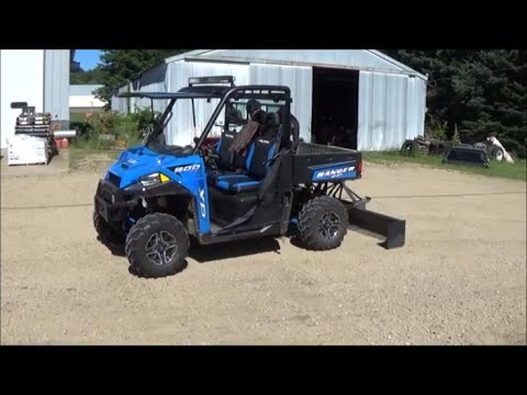 2016 Polaris Ranger 900 XP Electric 3 Point Hitch Install and Test