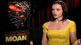 Black Snake Moan Christina Ricci interview