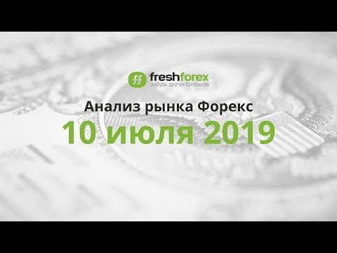📈 Анализ рынка Форекс - 10 июля 2019 [FRESHFOREX.ORG]