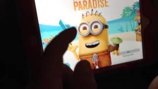 The Minion paradise cutscene