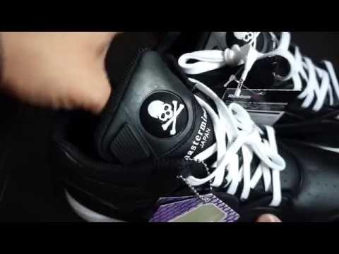 Mastermind Japan (MMJ) x Reebok Omni Lite Pump Basketball Shoes Unboxing    Review! 739b34e97