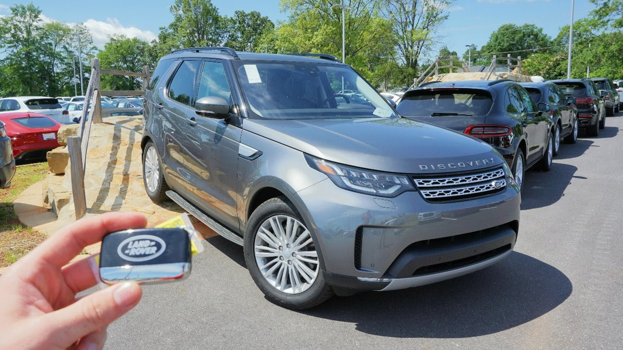 hight resolution of 2017 land rover discovery hse start up exhaust test drive and review