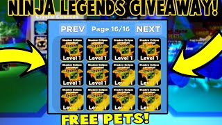 ⚡NINJA LEGENDS GIVEAWAY !NINJA LEGENDS MYTHICAL SOULS ISLAND *GIVEAWAYS🔴Roblox Live Stream