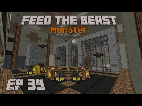 Feed The Beast Monster Ep 39 Petroleum Bees (AKA fuel)