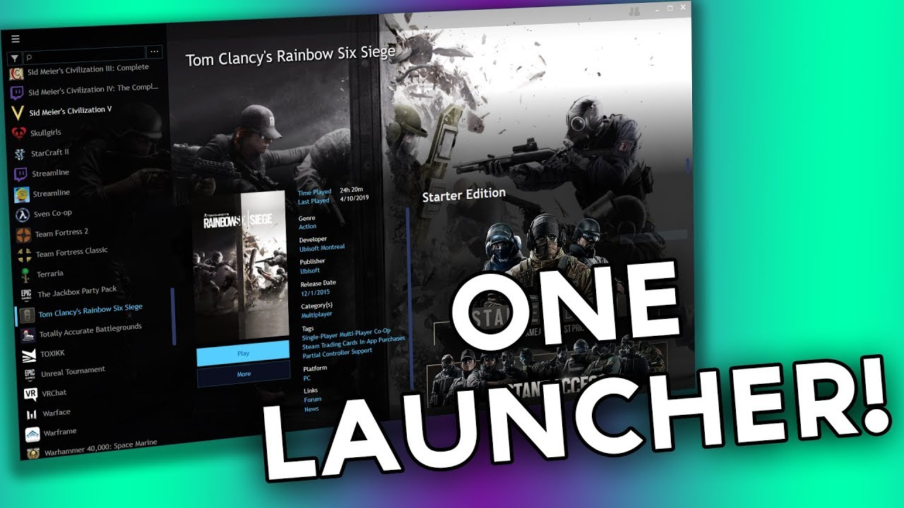 The UNIVERSAL PC Games Launcher! - Playnite