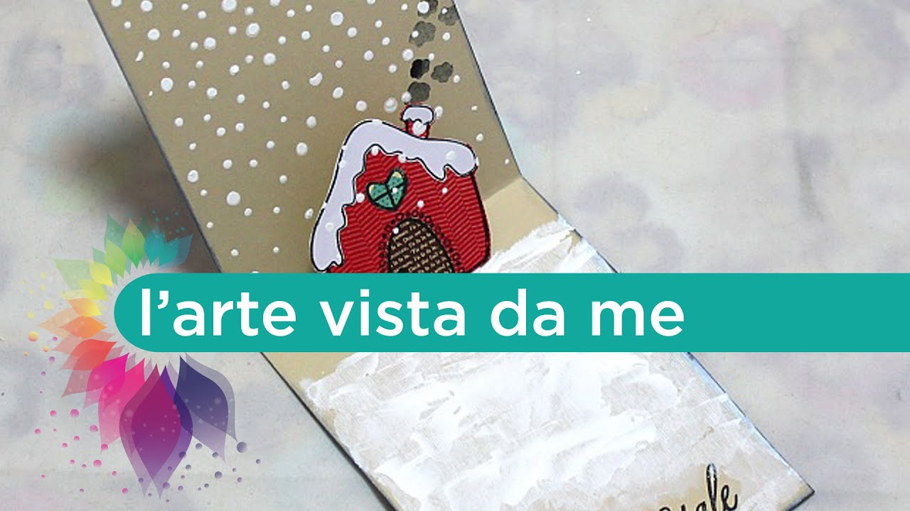 Ben noto Christmas Card Pop Up Tutorial-Biglietto auguri Fai da te-Natale  LV33