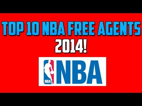 Top 10 NBA Free Agents 2014!