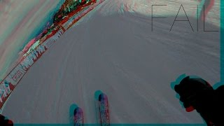 GoPro EDIT SKI: FLAINE BOARDERCROSS AND FAIL [GOPRO H5][1080p] [HD]