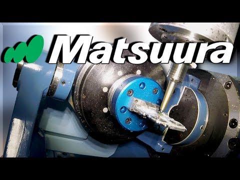 AMAZING Matsuura 5-Axis CNC Showroom!