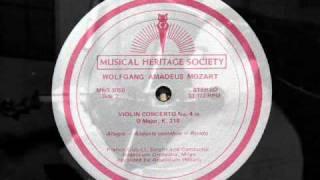 Mozart / Franco Gulli: Violin Concerto No. 4 in D major, K. 218 - Movement 3