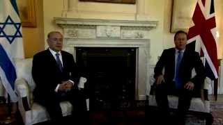 PM Netanyahu Meets British PM Cameron