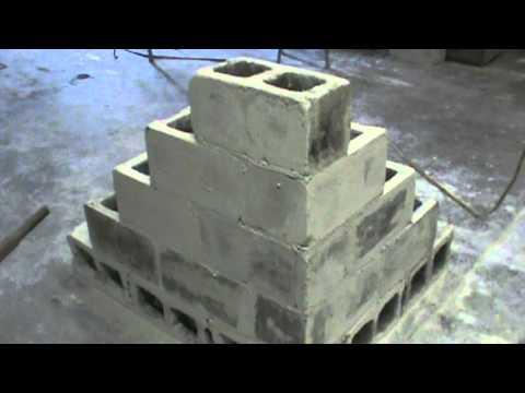 Masonry Block Laying Corner Construction