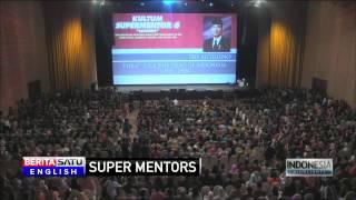 SBY, Habibie, Try Sutrisno, Xanana Gusmao Speak at 'Super Mentor' Meeting
