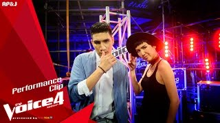 The Voice Thailand - ปอปี้  VS ต้น - Thinking Out Loud - 18 Oct 2015