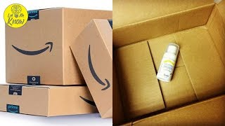 When Amazon Puts Small Objects In Big Boxes, There's Actually A Good Reason For It